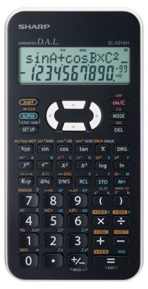 Kalkulačka Vědecká kalkulačka SHARP EL-531XHWHC