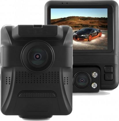 Kamera do auta Autokamera CEL-TEC E20 Dual GPS