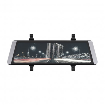 Kamera do auta Autokamera Cel-Tec M10 GPS Premium, zrcátko + zadní kamera