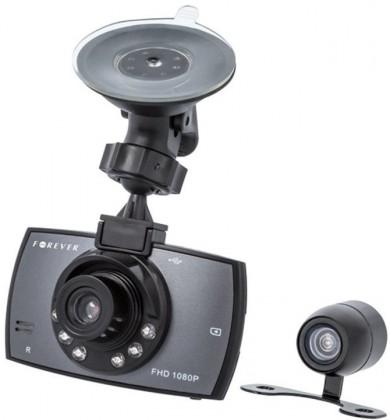 Kamera do auta Autokamera Forever VR-200, Full HD, záběr 140° + zadní kamera