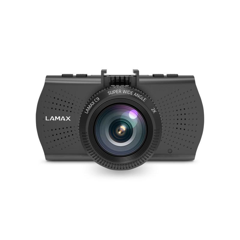 Kamera do auta Autokamera Lamax C9, 2K, záběr 150°, GPS, WDR, LDWS