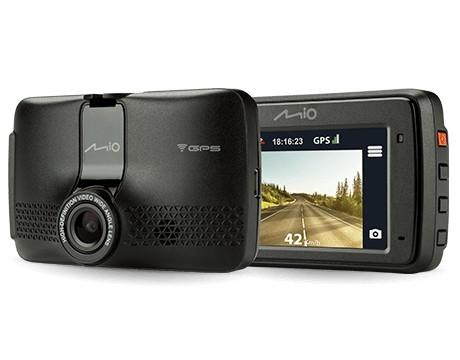 Kamera do auta Autokamera Mio MiVue 733 GPS, WiFi, FullHD, 130°