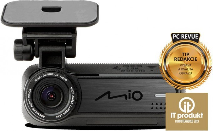 Kamera do auta Autokamera Mio MiVue J85, 2,5K, záběr 150°, GPS, ADAS, Wifi