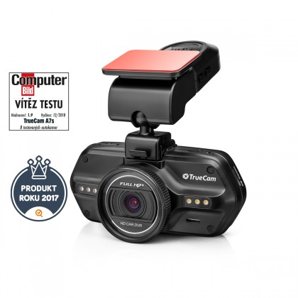 Kamera do auta Autokamera TrueCam A7S, FULL HD+, GPS