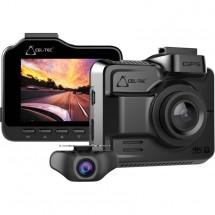 Kamera do auta CEL-TEC K4 dual 4K, GPS, WiFi, 160°
