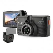 Kamera do auta Mio MiVue 798 + zadní kam. 2.5K, GPS, WiFi, 150°