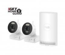 Kamerový systém iGET HOMEGUARD HGNVK88002P, bateriový, 2 kamery