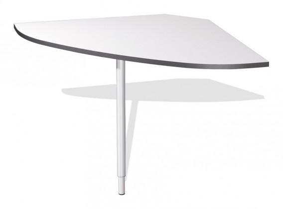 Kanceláře ZLEVNĚNO GW-Linea - spojovací roh stolu (antracit / bílá)