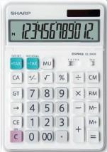 Kancelářská kalkulačka Sharp EL340W, solární napájení
