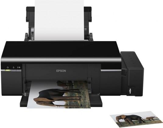 Kancelářská tiskárna EPSON tiskárna ink L800, CIS, A4, 38ppm, 6ink, USB, TANK SYSTEM