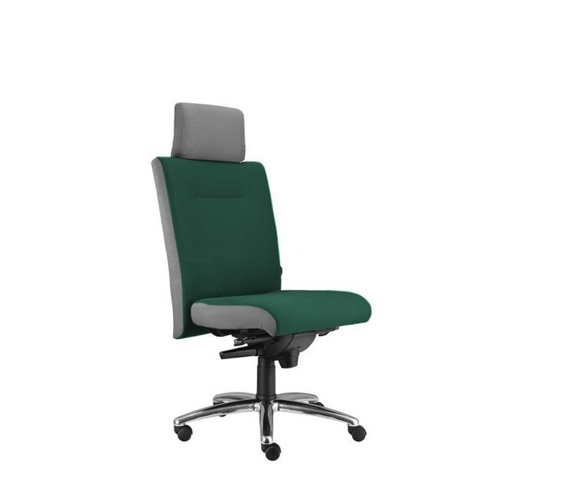 kancelářská židle Asidum s podhlavníkem, synchro P (alcatraz 12, sk.3)