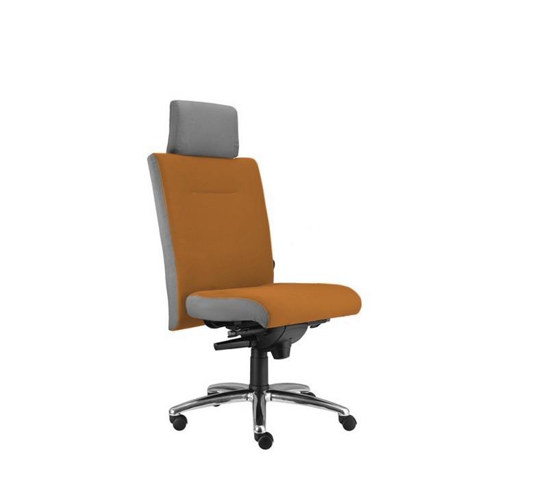 kancelářská židle Asidum s podhlavníkem, synchro P (alcatraz 847, sk.3)