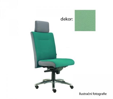 kancelářská židle Asidum s podhlavníkem, synchro P (koženka 89, sk.3)