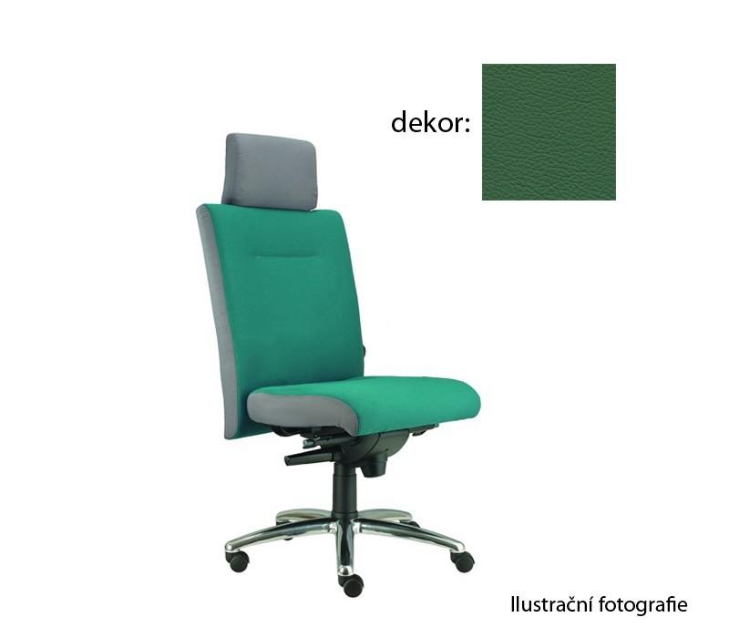 kancelářská židle Asidum s podhlavníkem, synchro P (kůže 161, sk.5)