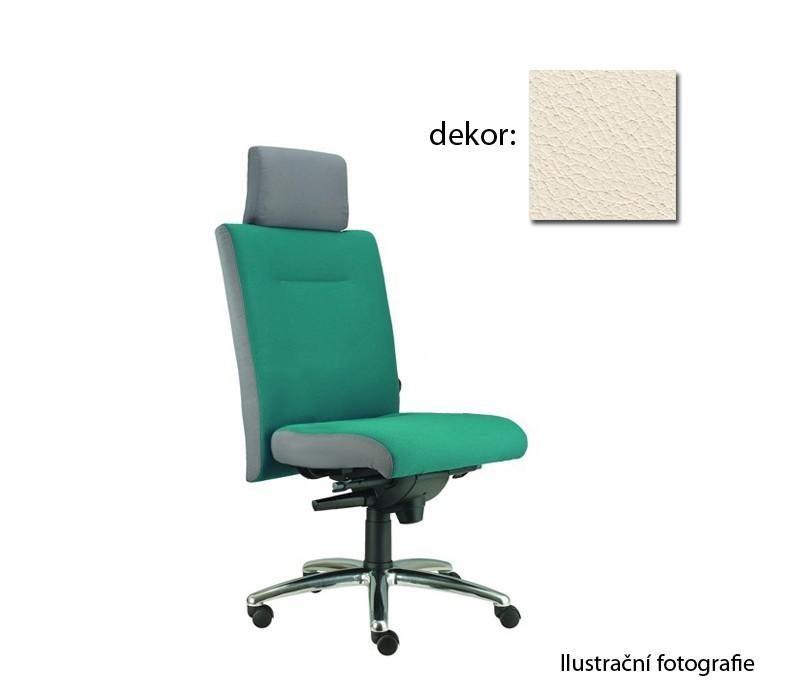 kancelářská židle Asidum s podhlavníkem, synchro P (kůže 300, sk.5)
