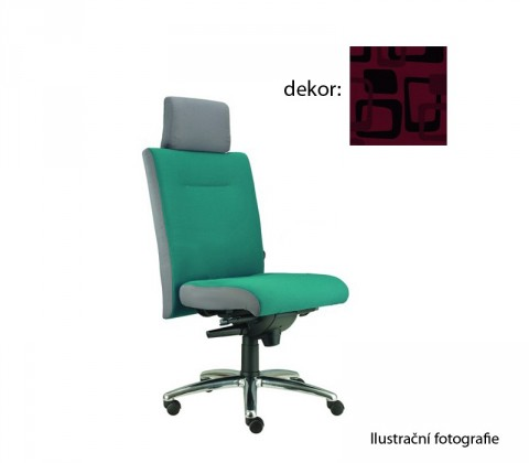 kancelářská židle Asidum s podhlavníkem, synchro P (norba 51, sk.4)