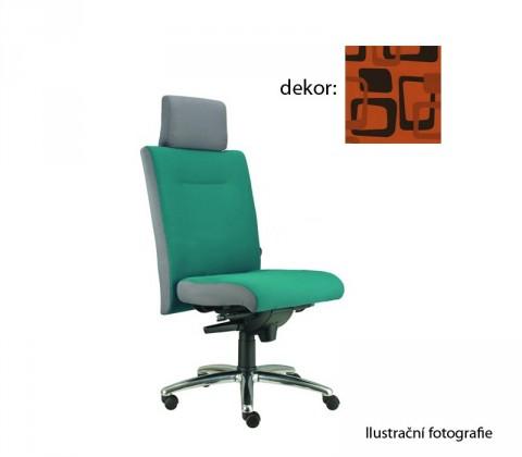 kancelářská židle Asidum s podhlavníkem, synchro P (norba 76, sk.4)