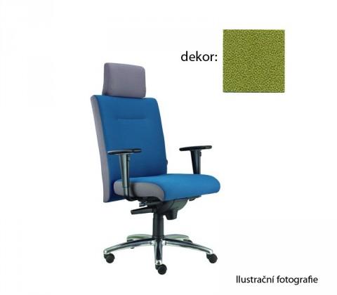 kancelářská židle Asidum s područkami a podhlavníkem,synchro P (bondai 7048, sk.2)
