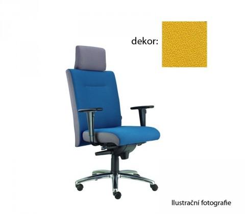 kancelářská židle Asidum s područkami a podhlavníkem,synchro P (phoenix 110, sk.3)