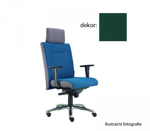 kancelářská židle Asidum s područkami a podhlavníkem, synchro P (phoenix 45, sk.3)