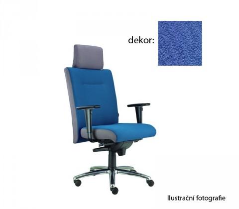 kancelářská židle Asidum s područkami a podhlavníkem, synchro P (phoenix 97, sk.3)
