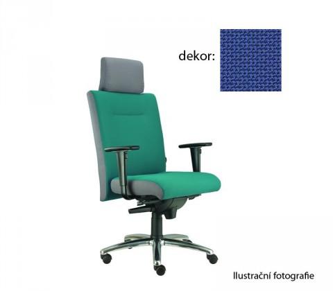 kancelářská židle Asidum s područkami a podhlavníkem, synchro P (rotex 1, sk.2)