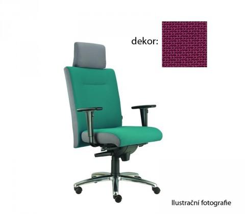 kancelářská židle Asidum s područkami a podhlavníkem, synchro P (rotex 20, sk.2)