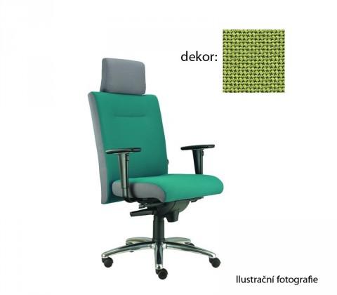 kancelářská židle Asidum s područkami a podhlavníkem, synchro P (rotex 22, sk.2)