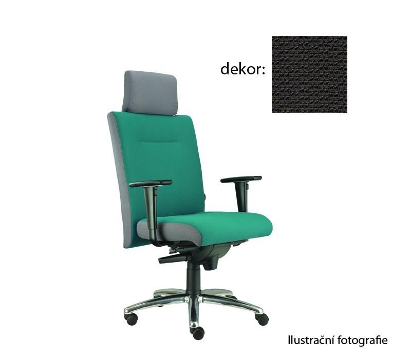 kancelářská židle Asidum s područkami a podhlavníkem, synchro P (rotex 8, sk.2)