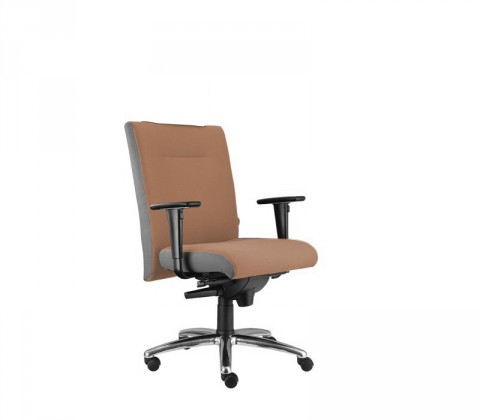 kancelářská židle Asidum s područkami, synchro P (alcatraz 40, sk.3)