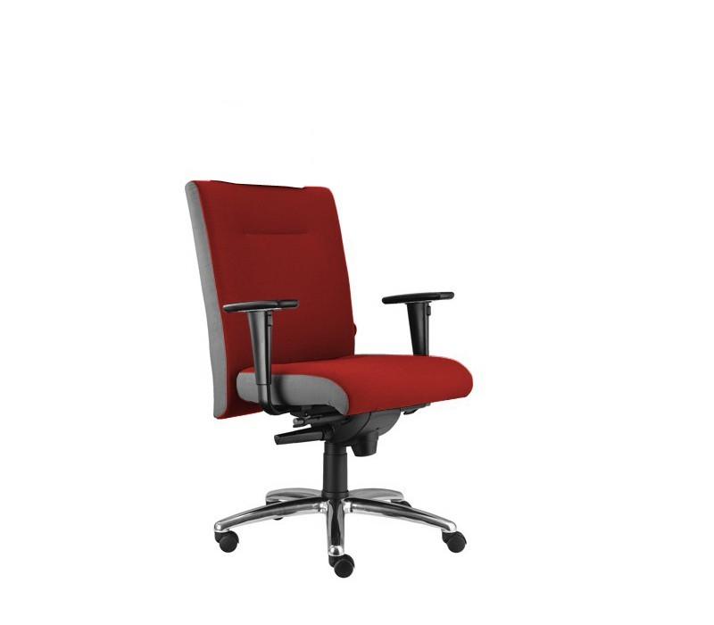 kancelářská židle Asidum s područkami, synchro P (alcatraz 5, sk.3)