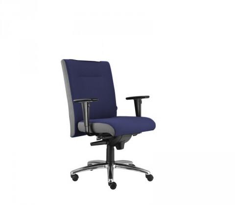 kancelářská židle Asidum s područkami, synchro P (alcatraz 9, sk.3)
