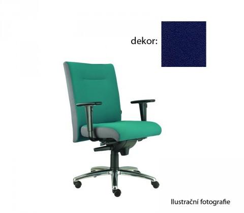 kancelářská židle Asidum s područkami, synchro P (koženka 68, sk.3)