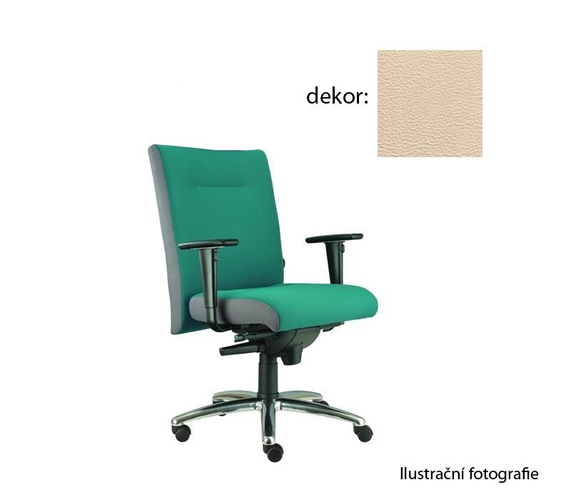 kancelářská židle Asidum s područkami, synchro P (koženka 96, sk.3)