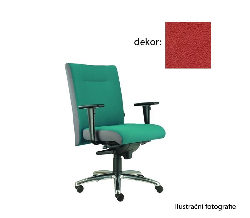 kancelářská židle Asidum s područkami, synchro P (kůže 163, sk.5)