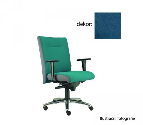 kancelářská židle Asidum s područkami, synchro P (kůže 166, sk.5)
