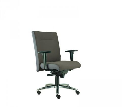kancelářská židle Asidum s područkami, synchro P (suedine 24, sk.1)