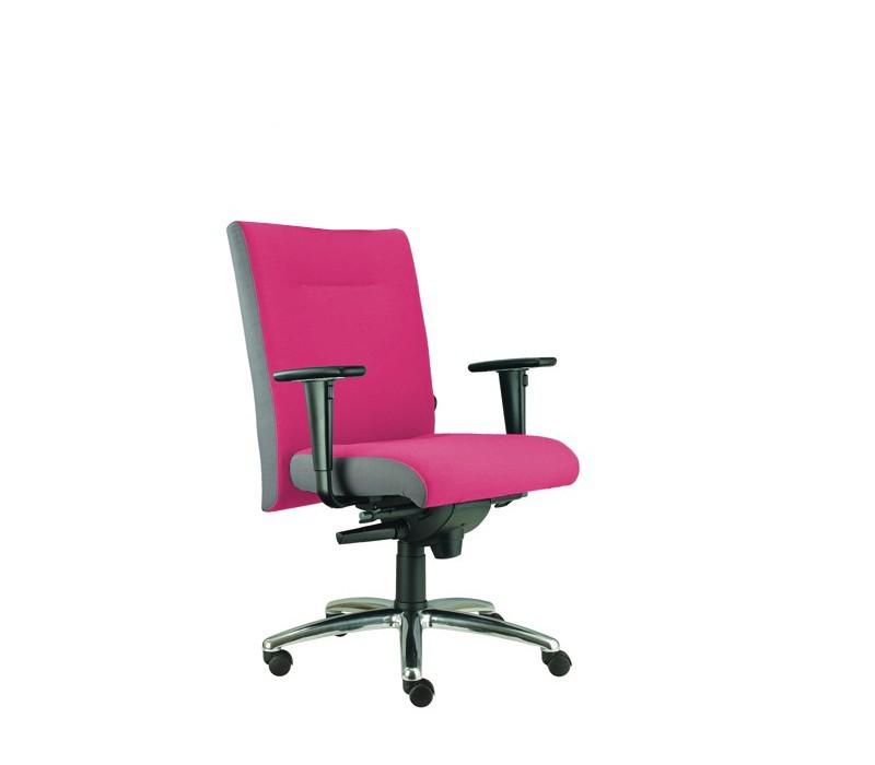 kancelářská židle Asidum s područkami, synchro P (suedine 41, sk.1)