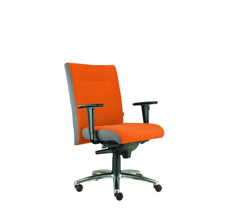 kancelářská židle Asidum s područkami, synchro P (suedine 46, sk.1)