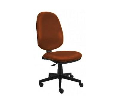 kancelářská židle Bruno - bez područek, E-synchro (potah - syntetická kůže)