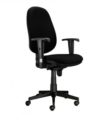 kancelářská židle Bruno - s područkami, T-synchro (potah - látka)