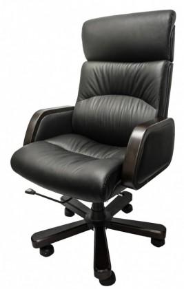 kancelářská židle Chicago (černá, hnědá)