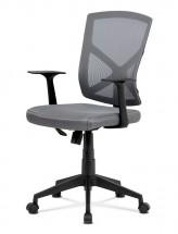 Kancelářská židle Clara šedá