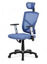 Kancelářská židle Dalila modrá