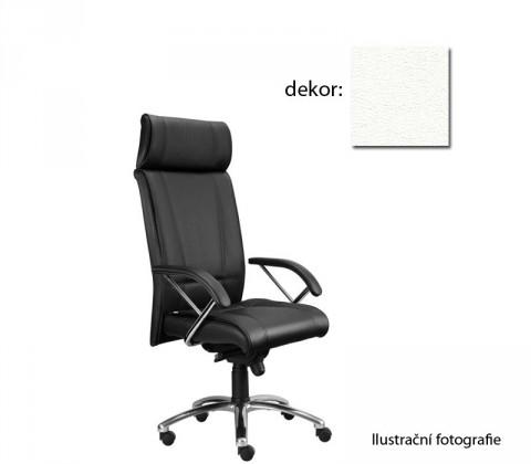 kancelářská židle Demos Boss - Kancelářská židle s područkami (koženka 51)