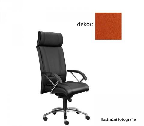 kancelářská židle Demos Boss - Kancelářská židle s područkami (koženka 74)