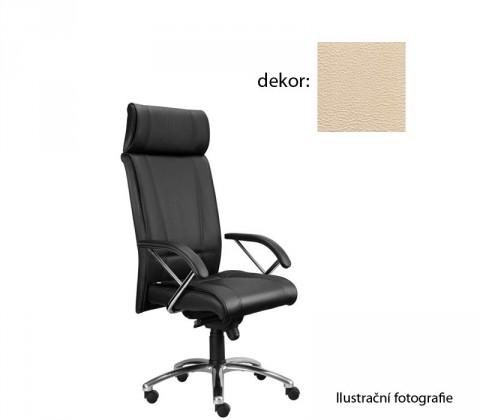 kancelářská židle Demos Boss - Kancelářská židle s područkami (koženka 96)
