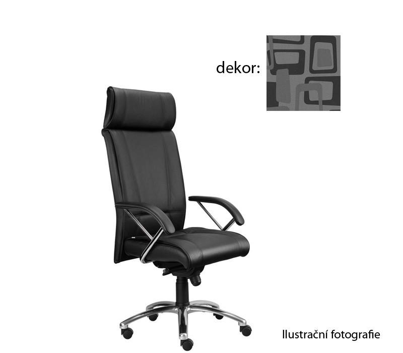 kancelářská židle Demos Boss - Kancelářská židle s područkami (norba 81)