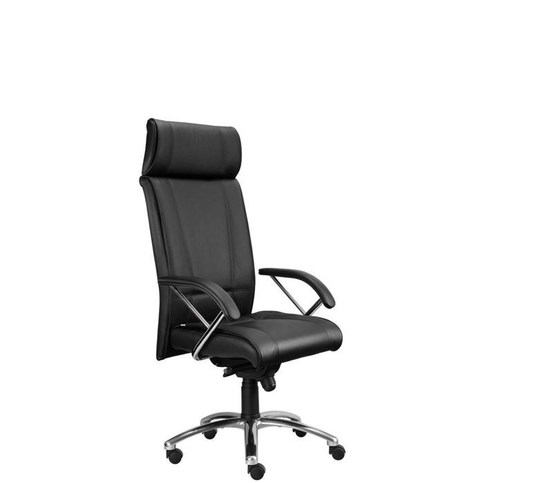 kancelářská židle Demos Boss - Kancelářská židle s područkami (suedine 1)