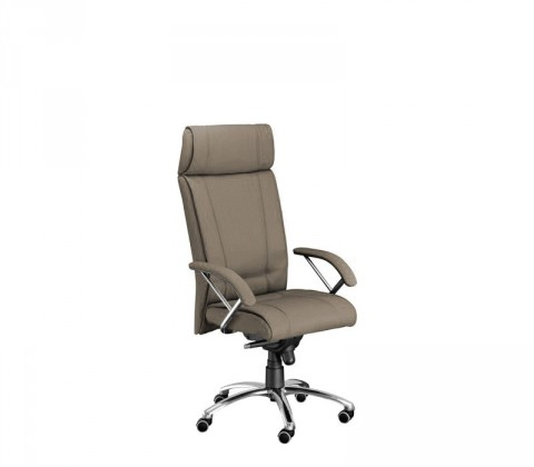 kancelářská židle Demos Boss - Kancelářská židle s područkami (suedine 109)